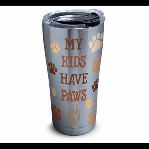 NWT Tervis My Kids Have Paws Insulated Tumbler